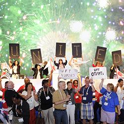 Healthcare organizing celebration